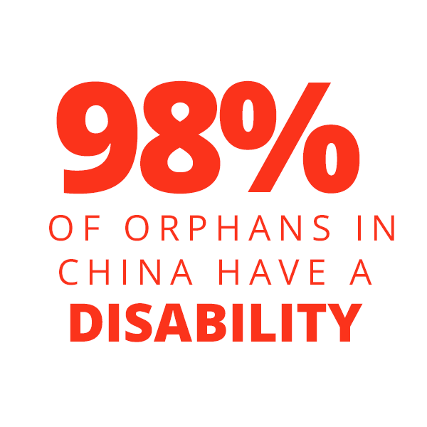 98% Of Orphans In China Have A Disability