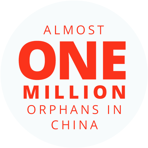 Almost One Million Orphans In China